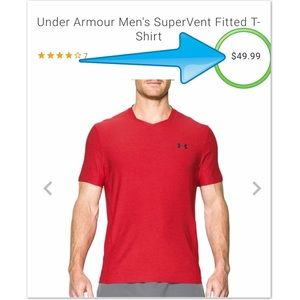 Under Armour Supervent Fitted Tee